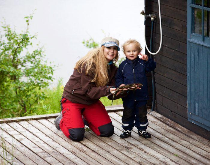 Fisking  som  familieaktivitet