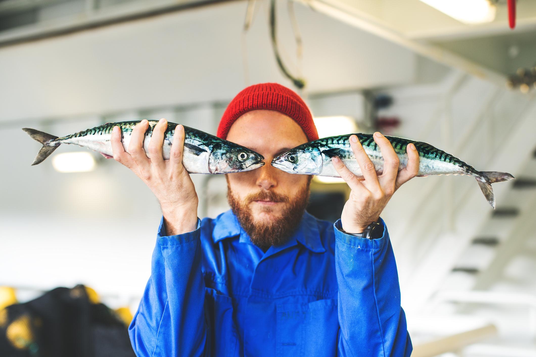 Litt om fiskeoppdrett.